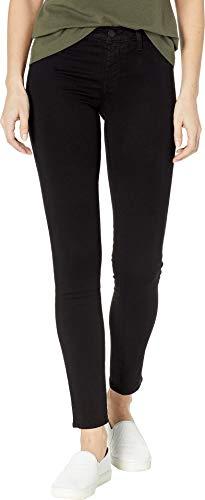 (J Brand Jeans Women's Rise Spr Skinny Jean, Black, 28 )