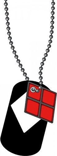Necklace - DC Comics - Harley Quinn Cut Out Dog Tag New Anime (Taggie Ball)