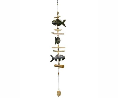 Cohasset Imports Bone Fish Cohasset Bell - Carved from Co...