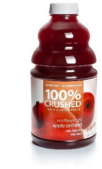 Dr. Smoothie Northwest Red Apple Orchard 100% Crushed Fruit Smoothie Concentrate 46oz. 3 pack by Dr. Smoothie