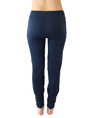 Donna Pantaloni Navy Sportivi Blu Leela Cotton qv5Ftt
