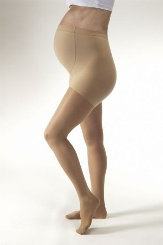 Medi Plus Maternity Pantyhose 30-40mmHg Open Toe, II, BGE