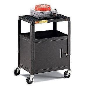 - Bretford A2642E Height Adjustable AV Cart Black