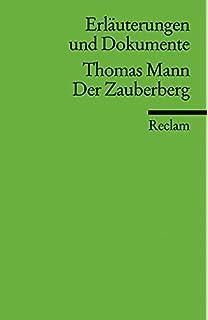 Thomas Mann Zauberberg Pdf