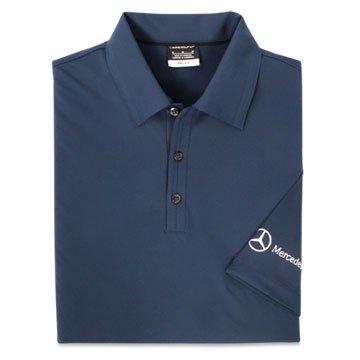 Genuine Mercedes Benz Men's Nike Ottoman Polo Shirt - MEDIUM