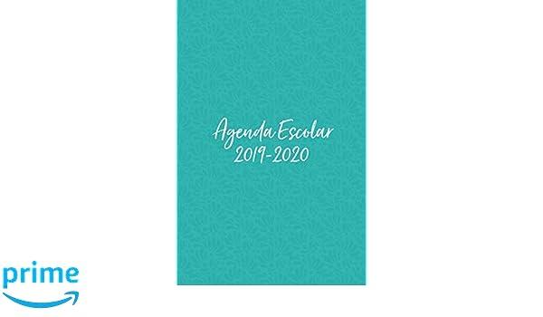 Agenda Escolar 2019-2020: Talavera de Puebla Turquesa. Para ...