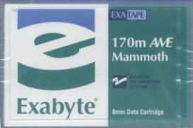Exabyte 312629 8mm Mammoth AME-1 170m 20/40GB Data Tape Cartridge by Exabyte