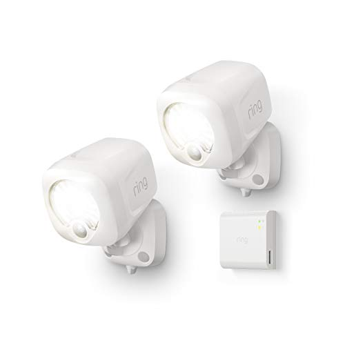Introducing Ring Smart Lighting –  Spotlight, White (Starter Kit: 2-pack)