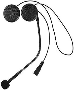 L1M Auriculares para cascos de moto Auriculares inalámbricos Estéreo con altavoz y manos libres Micrófono para teléfono: Amazon.es: Electrónica