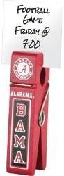 Alabama Crimson Tide de madera Clip
