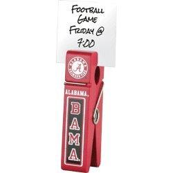 Alabama Wooden Football - Alabama Crimson Tide Wooden Clip