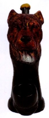The Pit Bull Smoking Collectible Novelty Tobacco Pipe