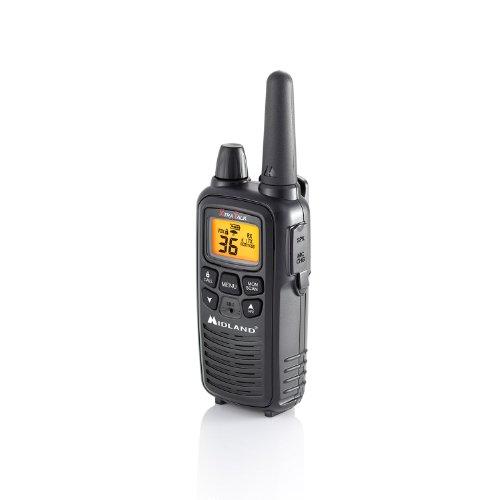 Midland - LXT600VP3, 36 Channel FRS Two-Way Radio - Up to 30 Mile Range Walkie Talkie, 121 Privacy Codes, NOAA Weather Scan + Alert (Pair Pack) (Black) by Midland (Image #7)
