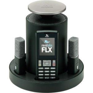 Revolabs 10-FLX2-200-POTS 5.8_ghz_radio_frequency 1-Handset Landline Telephone (Landline Smartphone Bridge)