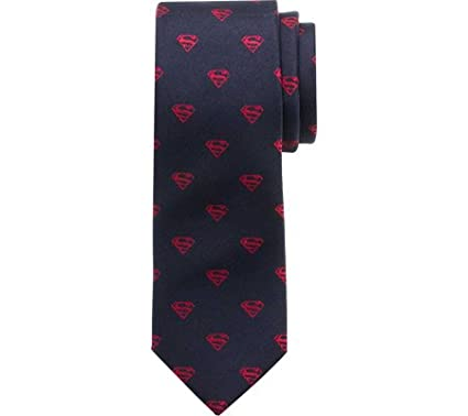 DC Comics Superman Big Boys' Silk Tie, Officially Licensed DC-SUP1B-KT-BB