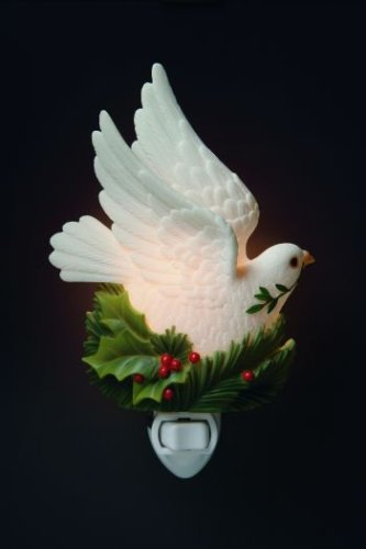 Ibis & Orchid Peace Dove Night Light #50014