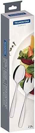 Posate da insalata in acciaio INOX Tramontina 63960//127 AISI 430