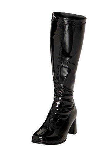 b3e08edbbc650 Fancy Dress Knee High Boots 60s 70s Retro Look GoGo Boots (3