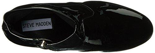 Eco Boot Steve Tronchetto Nero Patent E7712 Gaze Madden Black Shoe Woman Scarpe Donna ZcTfq