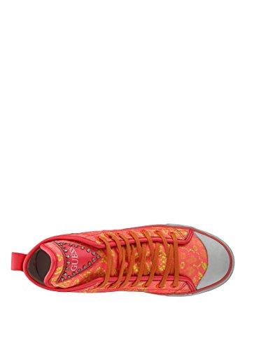 Guess Zapatillas abotinadas Fl1Jkylac12 Rosa / Amarillo EU 38
