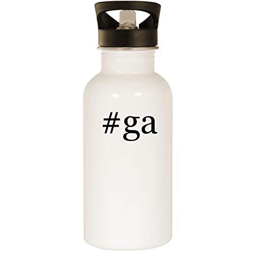 #ga – Stainless Steel 20oz Road Ready Water Bottle, White