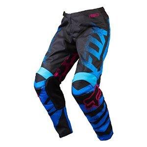 Fox Racing 180 Women's Dirt Bike Motorcycle Pants - Blue/Red / 9/10
