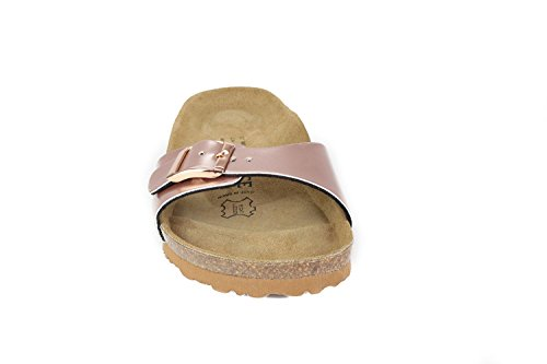 JOE N JOYCE Porto Synsoft Soft-Fußbett Sandalen Nude Größe 39 Schmal