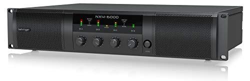 Behringer Power Amplifier (NX4-6000)