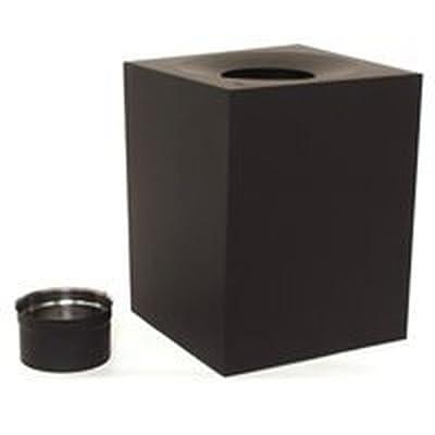 "American Metal Ameri-tec 6hs-rsa12 6"" Chimney Stove Pipe Roof Support Box Kit"