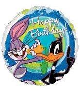17 Inch Looney Tunes Birthday Foil Balloon