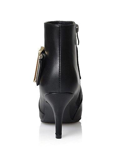 Damen Stiefel Zulaufender Citior Beute Damen Beute Casual Schuhe Heel Fashion Spitz Stiefel Zehenbereich Stiletto EE7qvZ