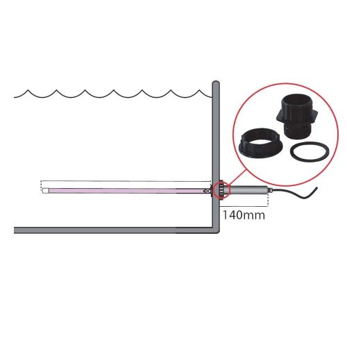 Tauchstrahler 80 Watt Amalgam mit Funktions LED Tauchstrahler UVC Amalgam 80 Watt Ersatztrafo f/ür Tauchstrahler Amalgam 40//80 Watt PondlifeTauch UVC 1.0