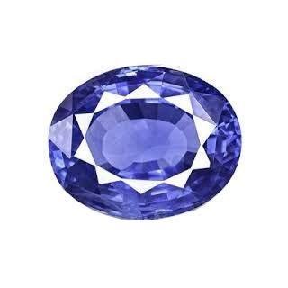 Getgemstones Blue Sapphire Oval Ceylon Mined Pukhraj Loose Gemstone Certified 4.7 (Oval Ceylon Sapphire)