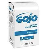 GOJO Lotion Hand Soap, 33.8 Oz, Box Of 8 (AbilityOne 8520-01-522-0838)