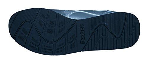 Las Reebok Mujeres Classic Cuero Silver Royal Zapatillas de de Deporte Glide de nBaBqxwC0