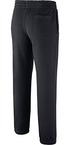 Con Nike pantaloni Boy's Spazzolato Risvolto Pile Black In PPxXBR