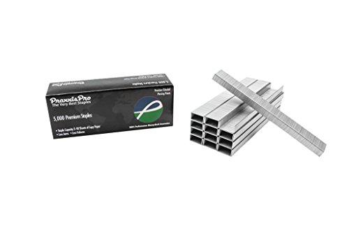 Premium Standard Staples - Chisel Point Standard Size Staples (26/6) Full Strip - 50,000 Count - By PraxxisPro (210 Full Strip)