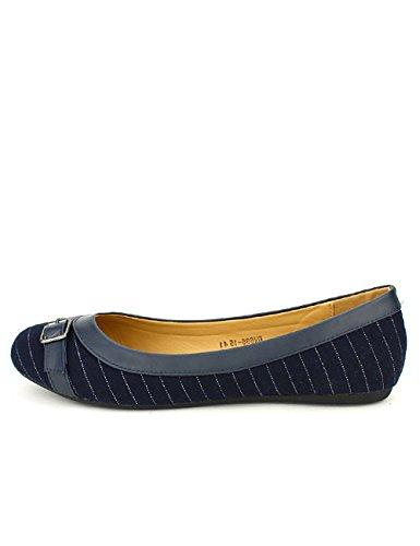 Femme Chaussures CINKS Cendriyon Blues Looks Bleu Ballerines 0nq8A