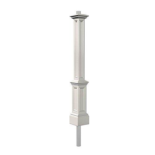 Mayne 5835-BK Signature Lamp Post with 89-Inch Aluminum Ground Mount by Mayne (Image #3)'