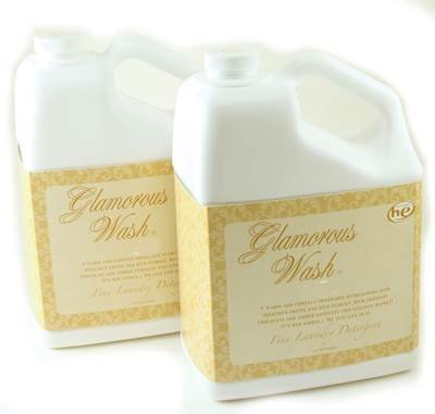 ICON TWO GALLON SET Glamorous Wash Fine Laundry Detergent by Tyler Candles by Tyler
