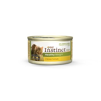 Nature's Variety Instinct Grain-Free Healthy Weight Chicken Canned Cat Food, 3 oz., Case of 24