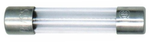 Bussmann AGC-10 AGC 10 Amp Fast-Acting Glass Tube Fuses 1/4 x 1-1/4 - 5 per Box, Model: W-A-235m, Outdoor/Garden Store, Repair & Hardware
