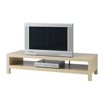 premium selection f76b0 24eb2 Ikea 401.053.40 58-5/8 Inches Lack TV Stand, Birch Effect