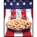 Politics in America, Custom Version, Dye, Thomas R., 0132320827