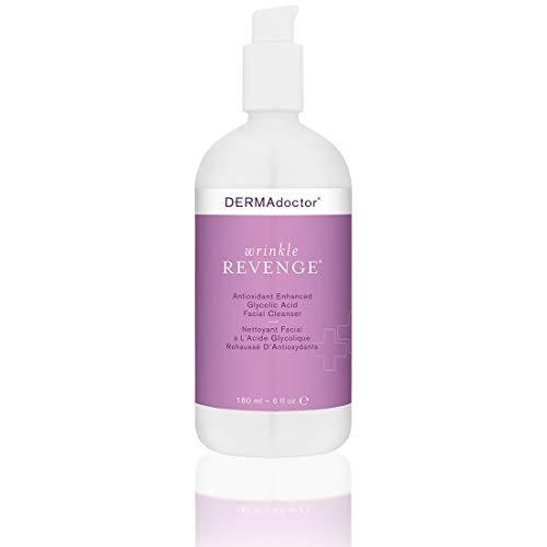 DERMAdoctor Wrinkle Revenge Facial Cleanser, 6 Fl Oz