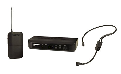 - Shure BLX14/P31 Headworn Wireless System with PGA31 Headset Microphone, H9