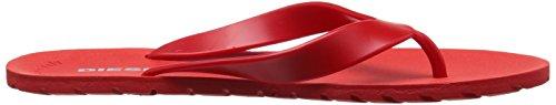 DIESEL - - Homme - Tongs Rouges Splish pour homme