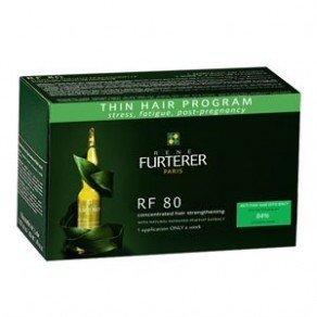 Rene Furterer RF 80 Tratatamiento Anticaída Concentrado 12 ampollas