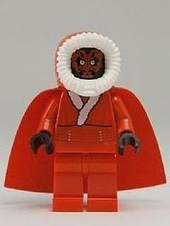 lego star wars santa darth maul mini figurine