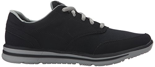 Skechers USA Mens Doren Mercier Oxford Black